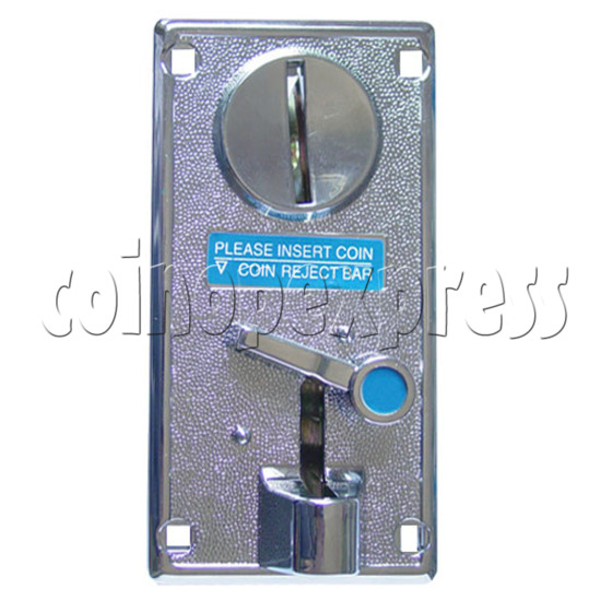 Double Function Alloy Token Insertor - front view
