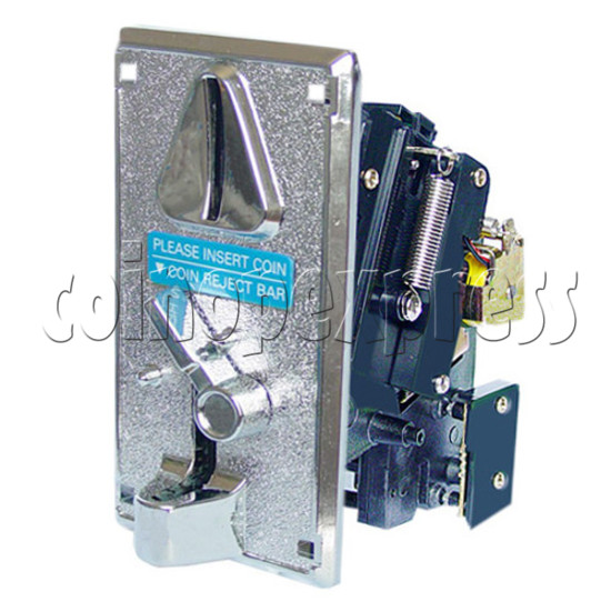 Electronic Coin Acceptor - angle view