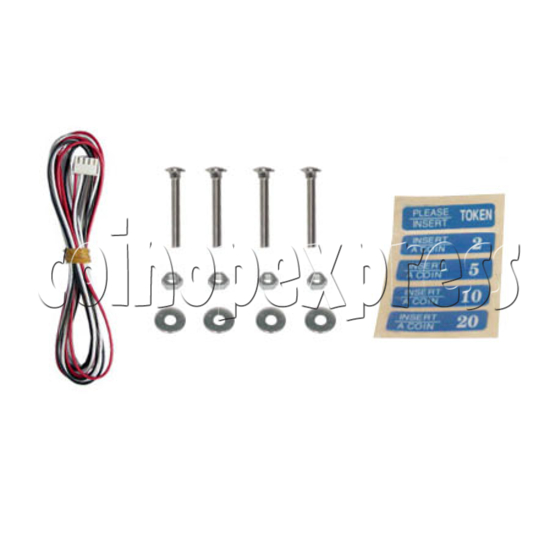 Electronic Coin Acceptor - parts