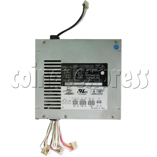 Power Supply for OutRun 2 Sega 400-5443 top view