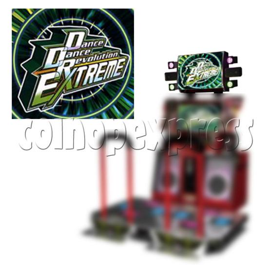 DDR Extreme Title Banner - installation