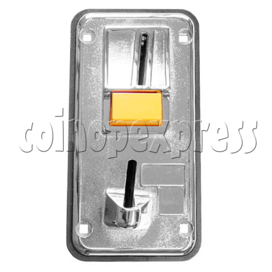 Front Insertion Electronic Coin Selector - front view