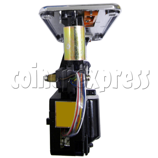 Front Insertion Electronic Coin Selector - top view