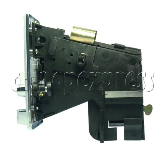 Coin Acceptor - plastic mechanical front drop - right view