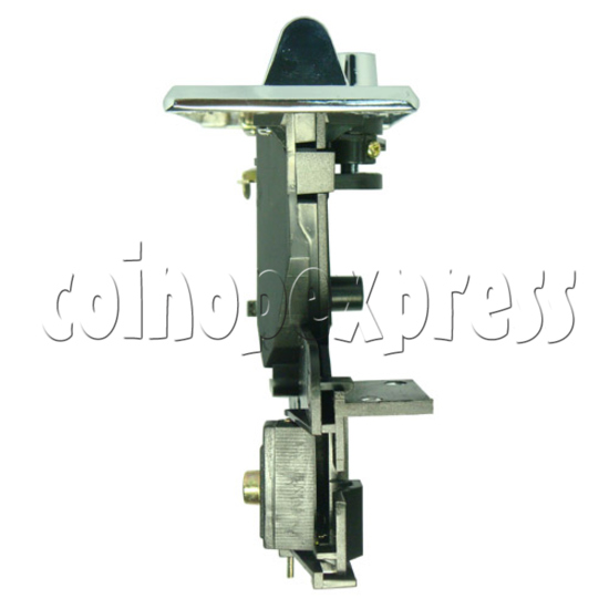 Coin Acceptor - plastic mechanical front drop - bottom view