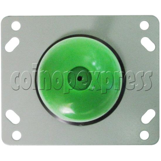 8 Way Green Ellipse Joystick - top view