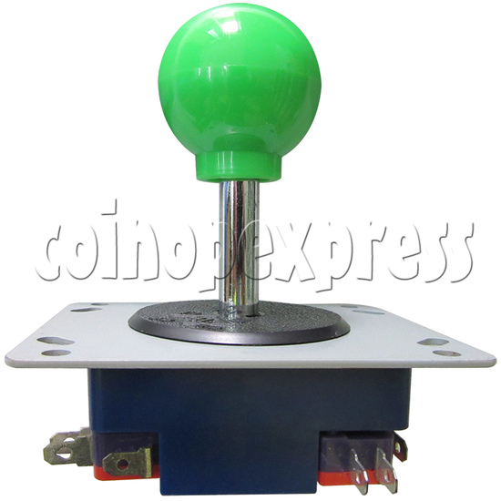 8 Way Green Ball Joystick - front view