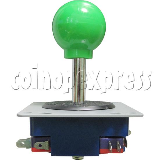 8 Way Green Ball Joystick - side view