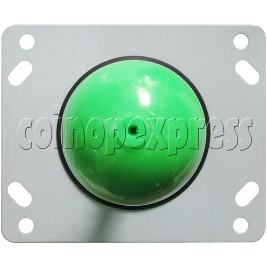 8 Way Green Ball Joystick - top view