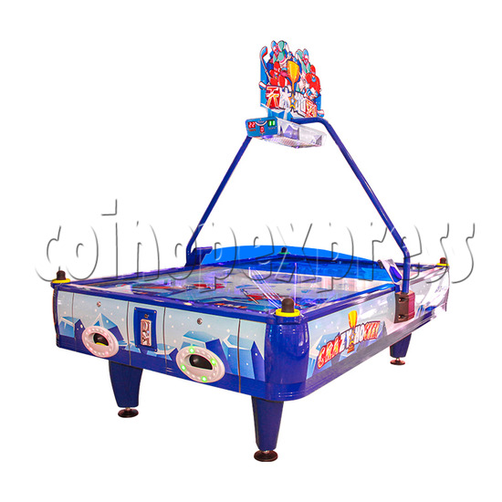 Crazy Air Hockey Machine 4 players - right view