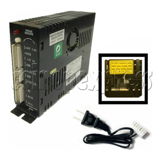 Power Supply  for Crane Game Machine - angle view