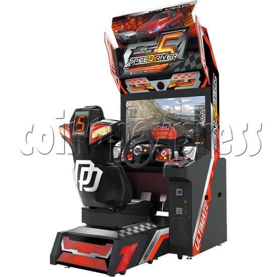 Speed Driver 5 Video Arcade Racing Game Machine - right view