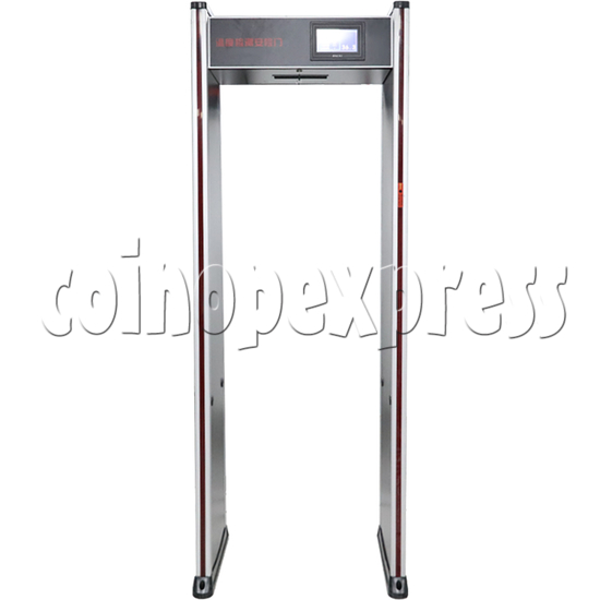 Automatic Temperature Measuring Gate - front view