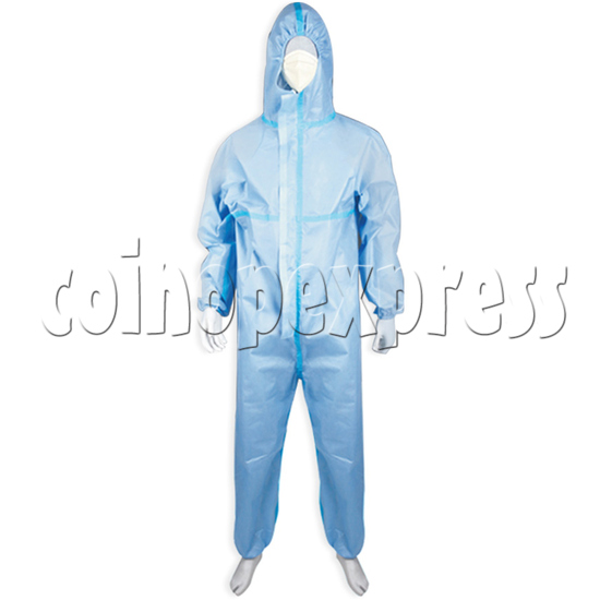Medical Protective Clothing sterile for hospital - blue color