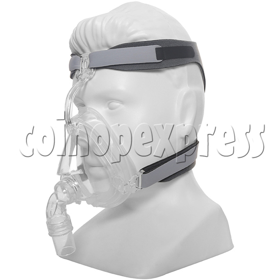 Medical Durable Sleep Apnea ComfortGel Full Face CPAP Nasal Mask With Headgear Strap - right view
