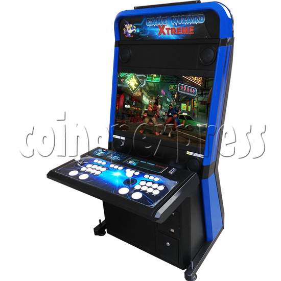 Game Wizard Xtreme 32 Inch Arcade Machine - right view