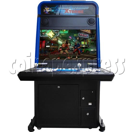 Game Wizard Xtreme 32 Inch Arcade Machine - front view