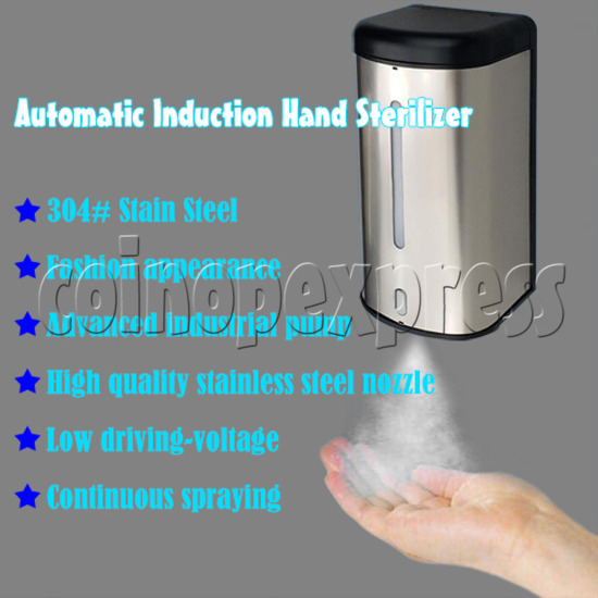 Automatic Induction Hand Sterilizer - features