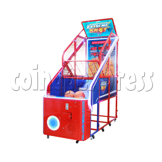 Crazy Hoops Basketball Game machine (Competition Version) English version