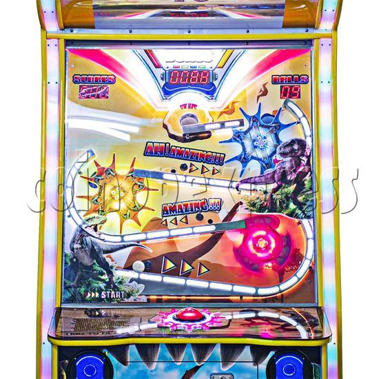 Dinosaur Diary Ticket Redemption Machine - playfield