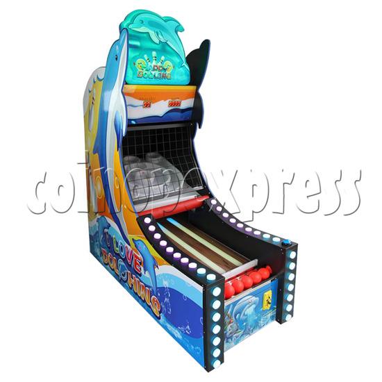 Happy Bowling Ticket Redemption Machine - left view 1