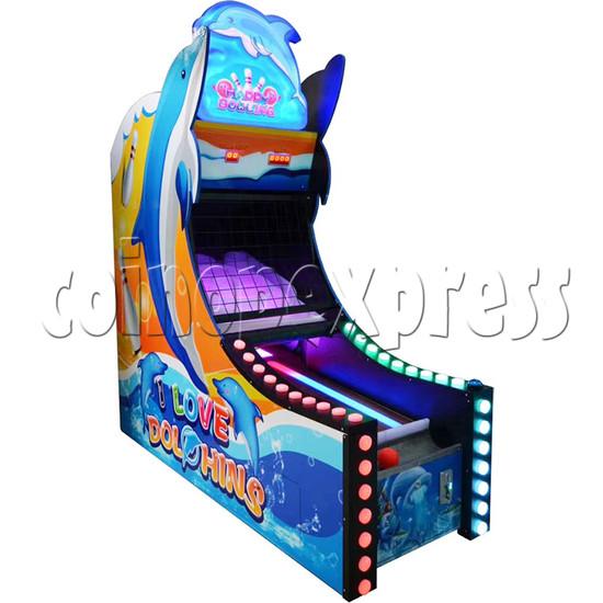 Happy Bowling Ticket Redemption Machine - left view 2