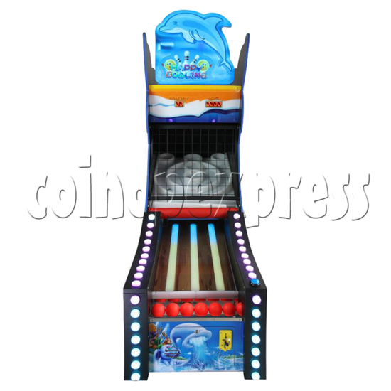 Happy Bowling Ticket Redemption Machine - front view