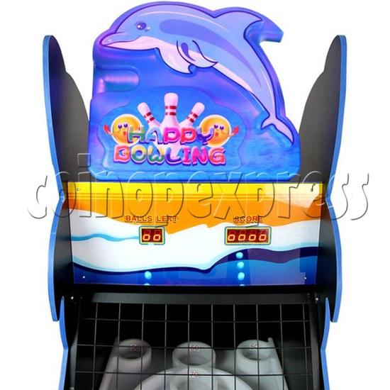 Happy Bowling Ticket Redemption Machine - header