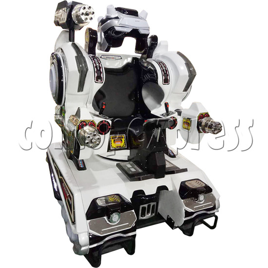 Space King Walking Robocop Rides - left view