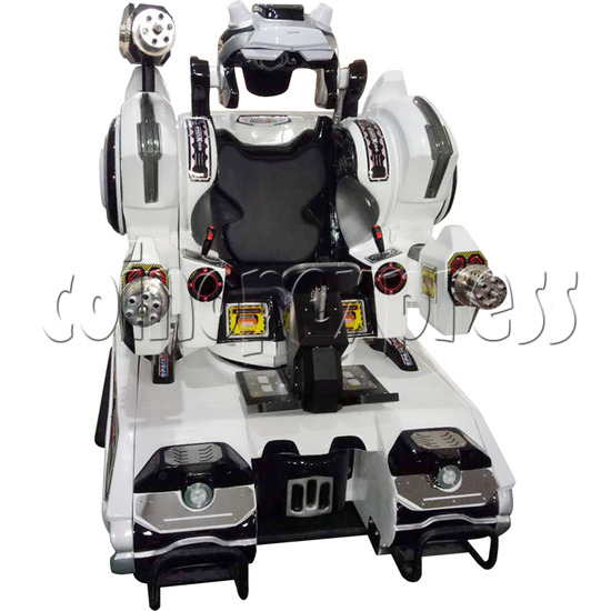 Space King Walking Robocop Rides - front view