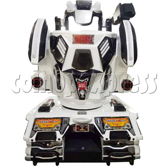 Space King Walking Robocop Rides - back view
