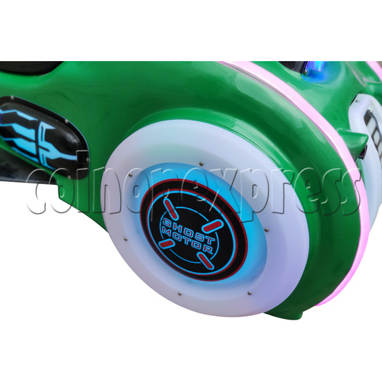 Ghost Motor Battery Car - front wheel