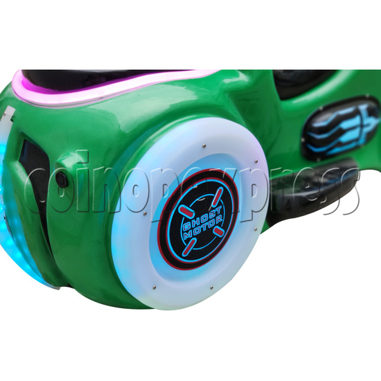 Ghost Motor Battery Car - back wheel