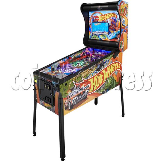 Hot Wheels Pinball Machine - right view