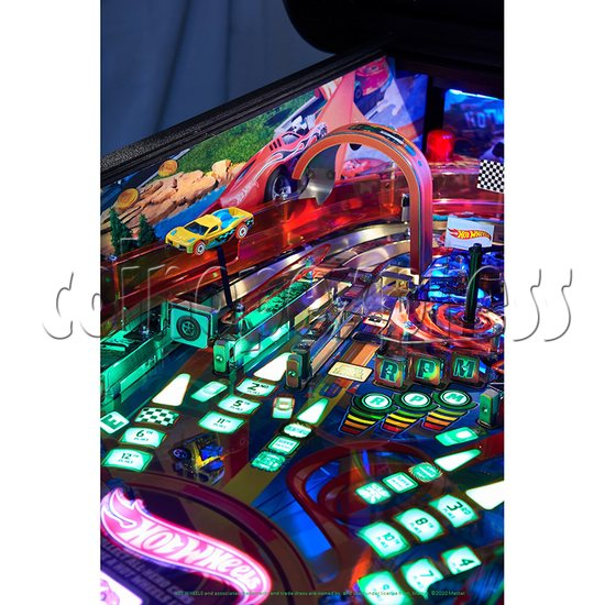 Hot Wheels Pinball Machine - detail 5