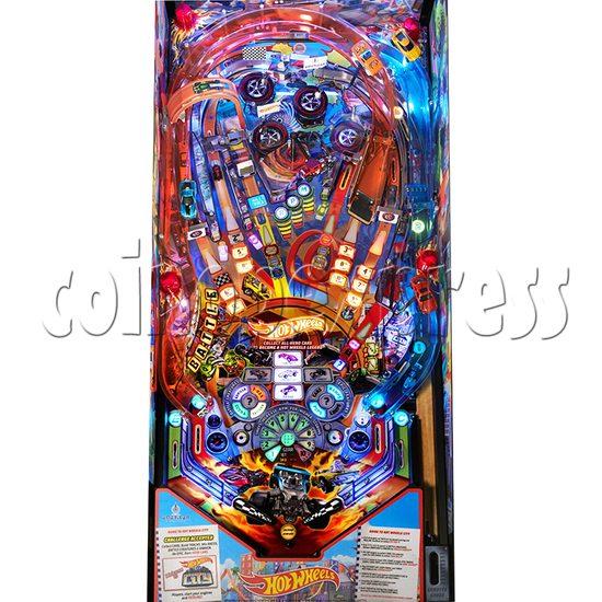 Hot Wheels Pinball Machine - playfield