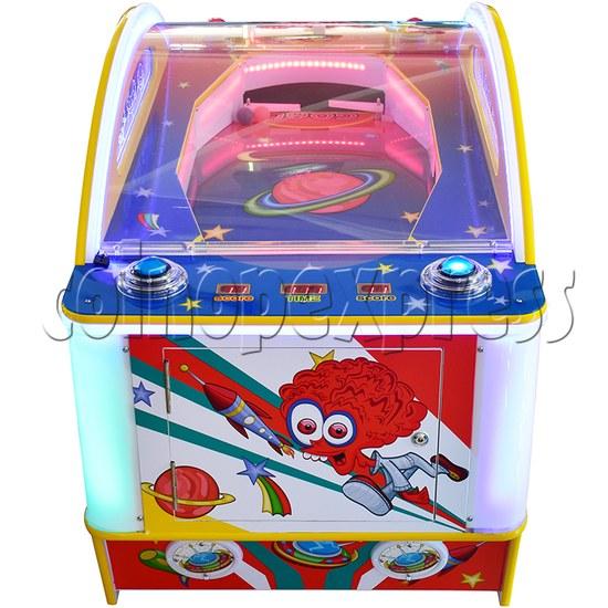Mini UFO Ice Hockey Ticket Redemption Machine - side view