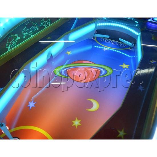 Mini UFO Ice Hockey Ticket Redemption Machine - table