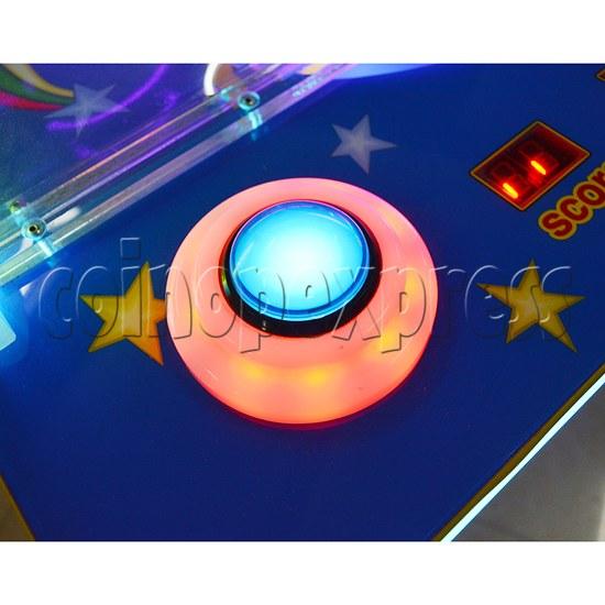 Mini UFO Ice Hockey Ticket Redemption Machine - button