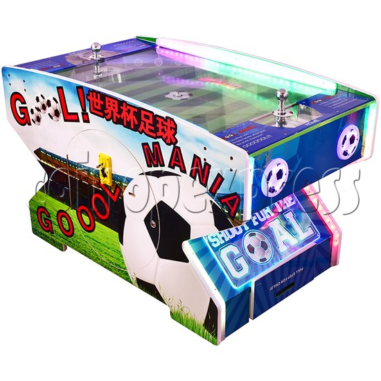 Goal Mania Soccer Table Game Machine - right view