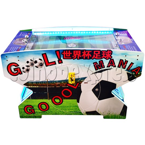 Goal Mania Soccer Table Game Machine - front view