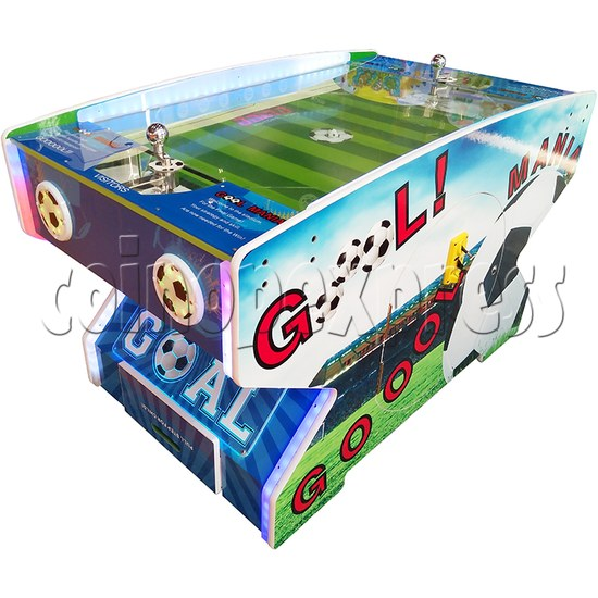 Goal Mania Soccer Table Game Machine - left view