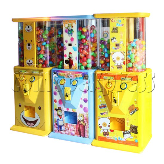 Candy Bear Gashapon Machine - right view