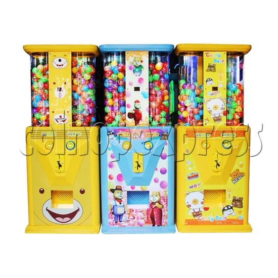 Candy Bear Gashapon Machine - front view
