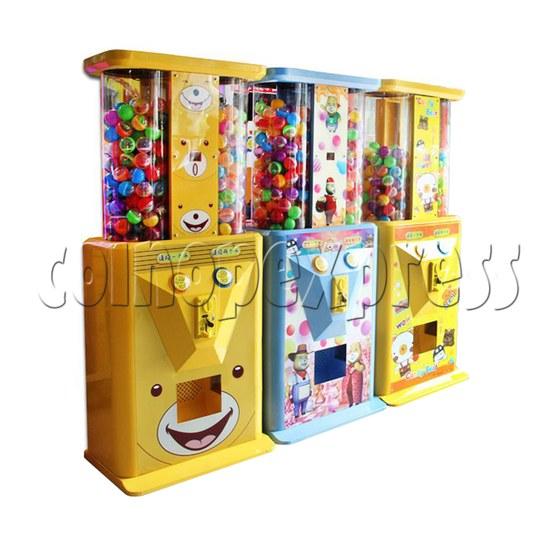 Candy Bear Gashapon Machine - left view