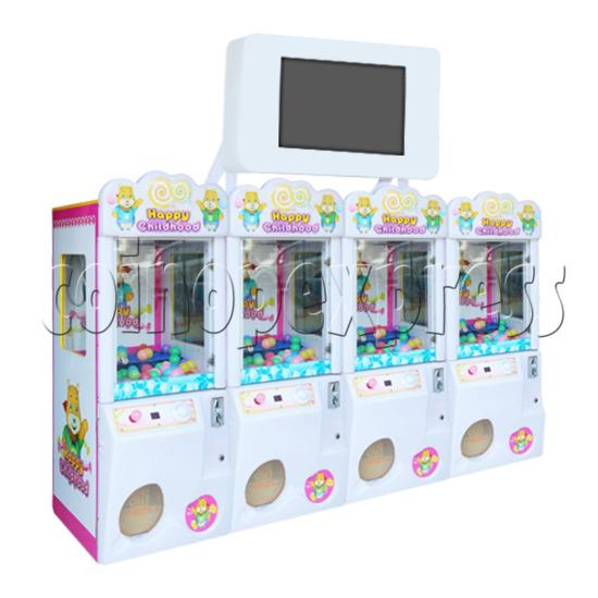 Happy Childhood Crane Machine 4 pcs