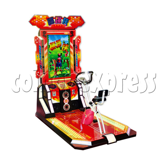 Tigger Sports Bicycle Machine Chinese Version - left view