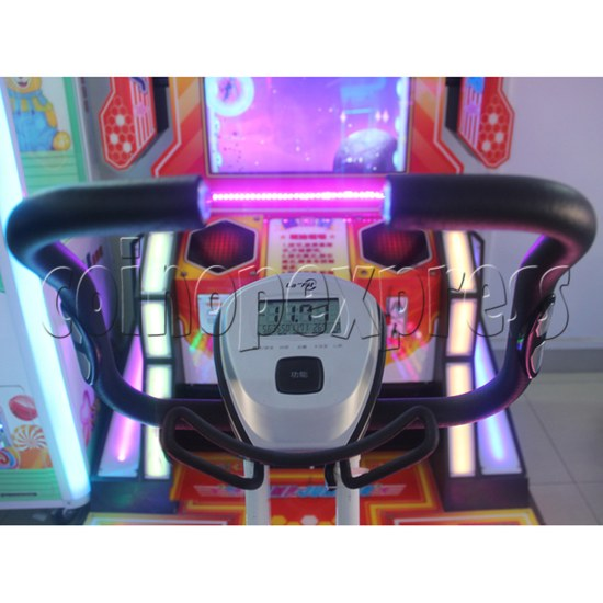Tigger Sports Bicycle Machine Chinese Version - control panel
