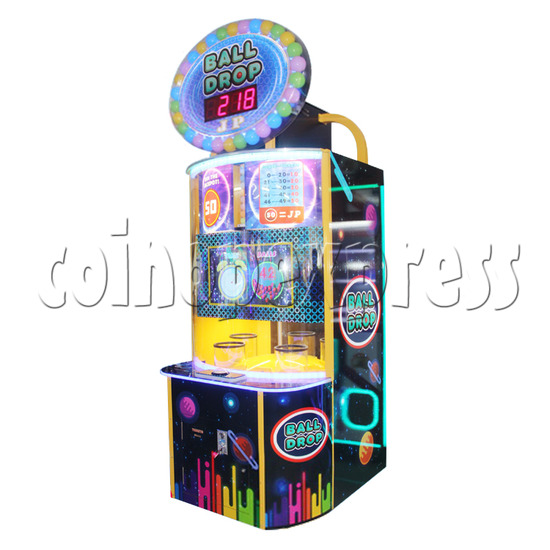 Ball Drop Ticket Redemption Machine - right view