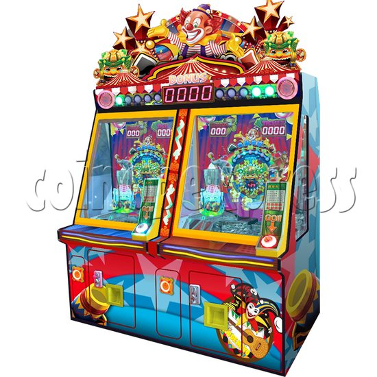 Carnival Circus Coin Pusher Ticket machine - carnival vircus theme